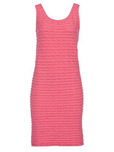 Tees By Tina Bermuda Pink Crinkle Tank Dress One (Crinkle Tank Dress)