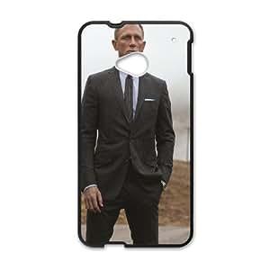 Daniel Craig Skyfall Agent HTC One M7 Cell Phone Case Black Y3397214