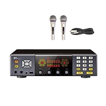 New KumYoung KHK-200 Home Party HDD Korea Korean Karaoke Singing Machine  Noraebang System - Korean Edition for NTSC TV + 2 Microphones
