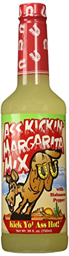 Ass Kickin - Margarita Mix with Habanero Pepper - 26oz.