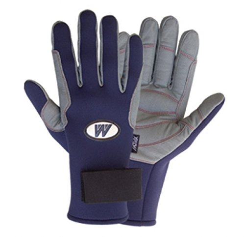 MOTIVEX Segelhandschuhe Neopren Farbe Blau volle Finger XXL