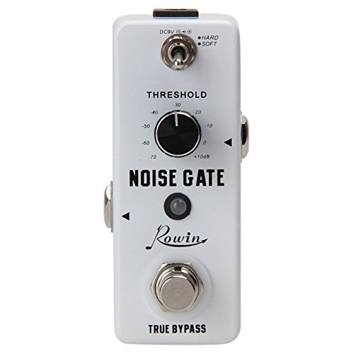 Chinatera Guitar Noise Gate Suppressor Effect Pedal White Noise Killer Noise Gate Pedal ()