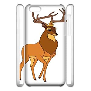 iphone5c Phone Case White Bambi Great Prince of the Forest CYL8655934
