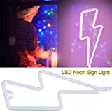 Neon Light Sign LED,Neon Lamps Decorative Lights, Perfect for Bedroom/Baby Room/Shop Window/Club/ Wedding/Party/ Yard/Wall(Pink)