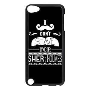 iPod 5 Case,Sherlock Hard Snap-On Cover Case for iPod Touch 5, 5G (5th Generation)
