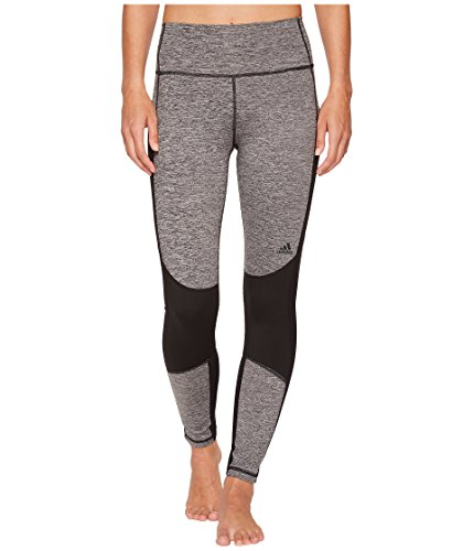 (adidas Women's Believe This High-Rise 7/8 Soft Tights Black Small )