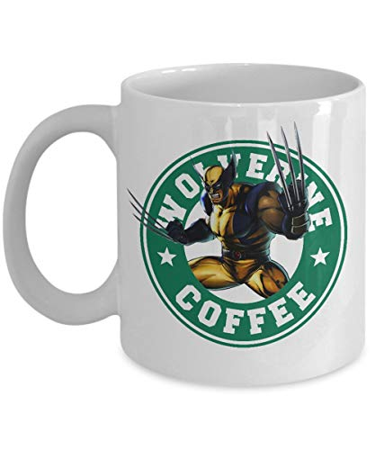 Wolverine Mug- Starbucks Inspired X-Men Coffee Mug, Comics- Coffee Mug, Tea Mug, Cute Mug - Gift, cute gift, Souvenir, 11oz, 15oz