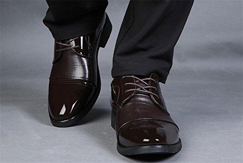 a stagioni 38 uomo punta di da da XIE brown 43 scarpe uomo Quattro lusso d'affari scarpe uomo d'affari Sx5AqwY