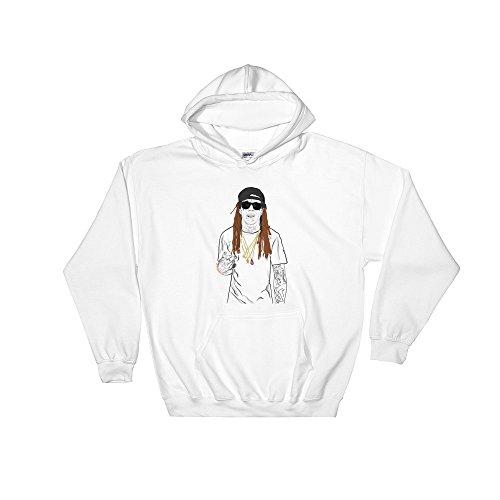 LIL Wayne Tunchi White Hoodie Sweater (Unisex) - Lil Style Wayne