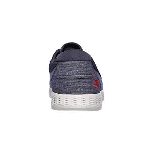 Skechers Mens On The Go Glide Coastline Cushioned Casual Boat Shoes Jeans