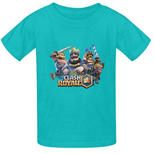 Generic Kids Boys Cool Photo Custon Clash Royale Game T Shirts Summer Tee