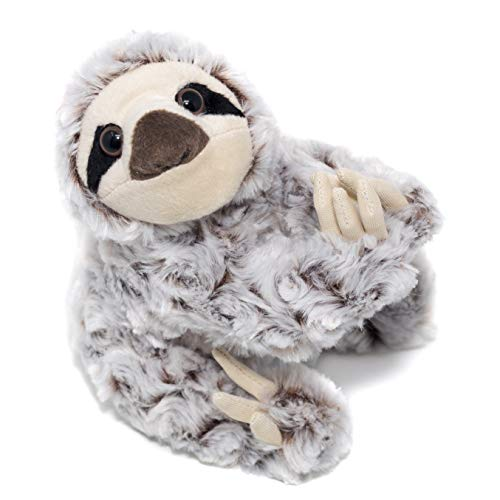 "8"" Sloth Stuffed Animal – Ultra Soft Stuffed Sloth Designed With Superior Softness – Perfect Size Sloth Plush – Easy To Carry & Snuggle – Realistic Cute Sloth Toy – Bring These Sloths Home To Ages 3+"