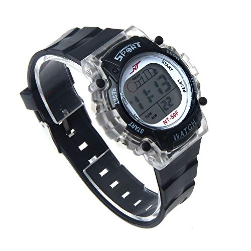 iNoDoZ Men Women Sport Watch Colorful LED Sports Outdoor Watches with 6 Colors ()