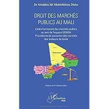 Droit des marchés publics au Mali