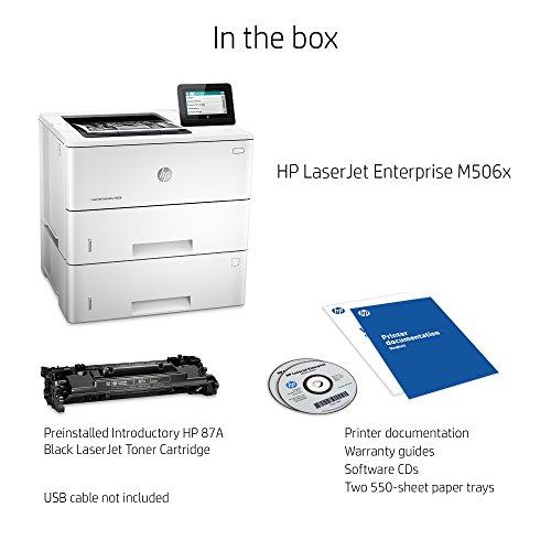 Amazon Hp Laserjet Enterprise M506x Monochrome Printer F2a70a