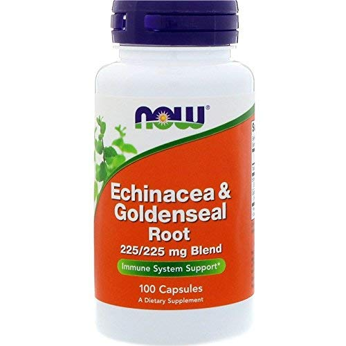 - Now Foods Echinacea and Goldenseal Root 100 Capsules