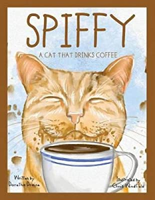 Spiffy, a Cat That Drinks Coffee