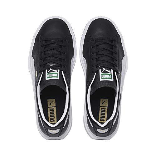 Puma Lthr 01 366078 5 bianco Nero Sneakers Nero Breaker 48 gvwEqgr