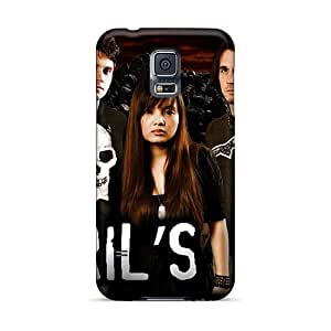 Best Hard Phone Cover For Samsung Galaxy S5 With Unique Design High-definition Lullacry Band Skin Marycase88