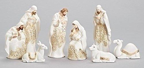 Gold Nativity Set - 1