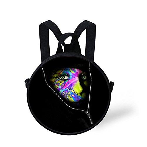 Dfgc0331i for Round Amazing Women Bag Print FancyPrint Bag Round Crossbody OYzRIwq