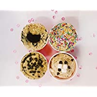 Cookie DOH! Assorted Edible Cookie Dough 4 Flavour Pack 4x200g