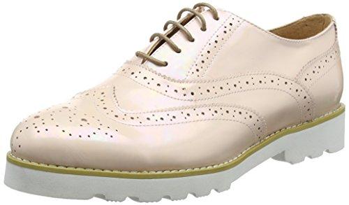 para Brogue Zapatos de Beige 1 Cordones Mujer Jycx15pr2 Giudecca WB7qEYnXSS