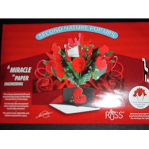 THE ORIGINAL POP UPS - 39472 - BOUQUET OF ROSES - VALENTINE'S DAY CARD Sales