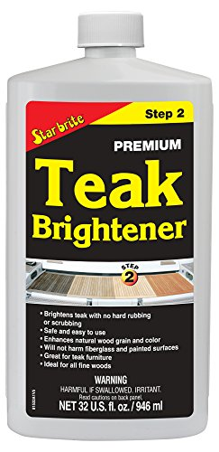 Star Brite 081532 Premium Teak Brightener - Step 2-32 oz -