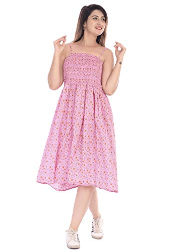 PRACHIN Women's Fit And Flare Knee Length Dress