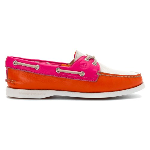 Sperry Top-Sider Womens Authentic Original Two-Eye Boat Shoe Pink DGFivA