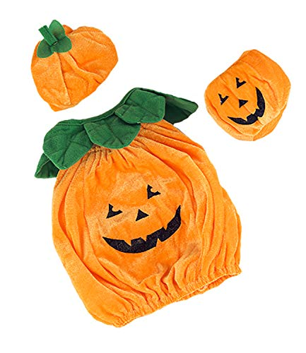 Pumpkin Jack-O-Lantern Outfit Teddy Bear Clothes Outfit Fits Most 14