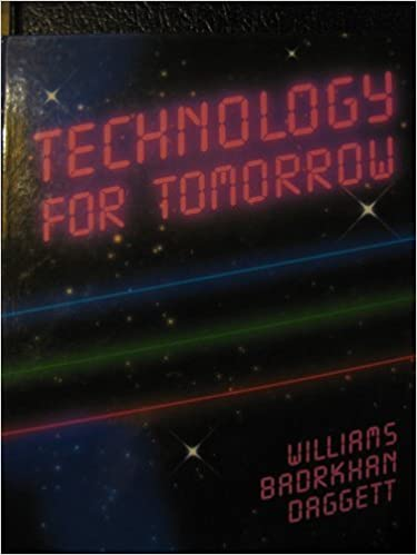 Image result for Technology for tomorrow williams