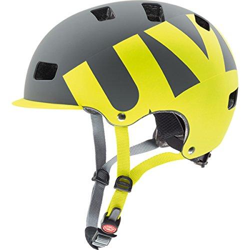 Uvex 2017 HLMT 5 City/Urban Helmet - 410308 (pr gray-lime mat - 58-61 - Pr 59
