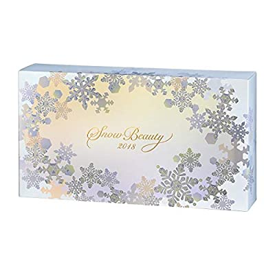 SHISEIDO Maquillage Snow Beauty Face Powder + Refill Powder 2018 Limited 25g2 (Japan Import)