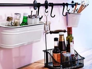Amazon.com: IKEA Acero condimento cocina especias Holder ...
