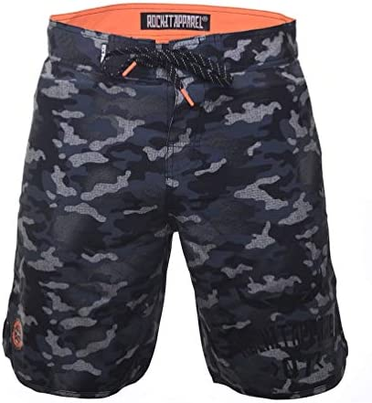 ROCK-IT Apparel® Swim Shorts for Men [Sizes: S-3XL] – Swim Trunks for Men – Pleasant Camouflage Board Shorts – Perfect for The Beach, Indoor Pool, or Outdoor Pool