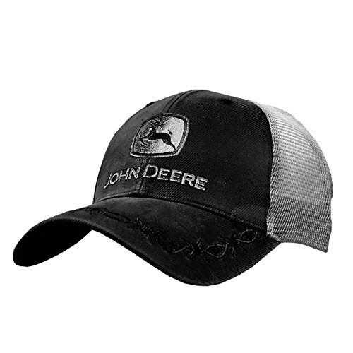 John Deere Oilskin Mesh Back Embroidered Hat