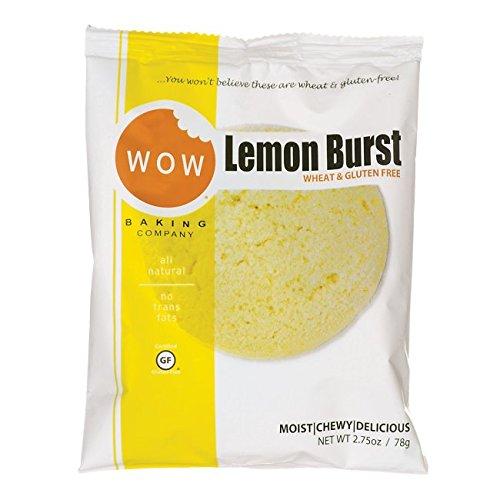 WOW Baking Company Lemon Burst Cookie 1 / 2.75 oz Ct (Cookies Wow Lemon)