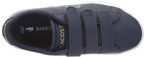 Lacoste Carnaby Evo G316 2 - Zapatillas Unisex Niños Blau (NVY/NVY 95K)