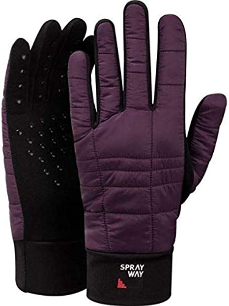 S-M Sprayway Stretch Grip Hybrid Glove BLACK
