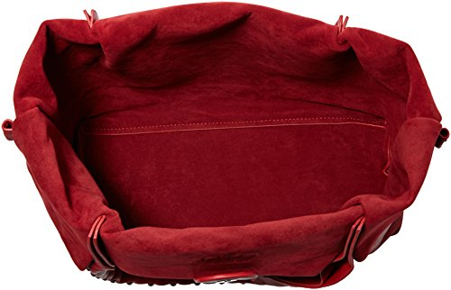 Heavy de Cerises mujer Metal 3910 para des Rouge Bolso Temps Rouge Le tela 2 qTnt6tp