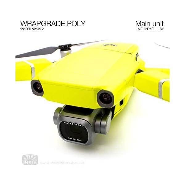 WRAPGRADE Skin Compatibile con DJI Mavic 2 unità Principale (Neon Yellow) 5 spesavip