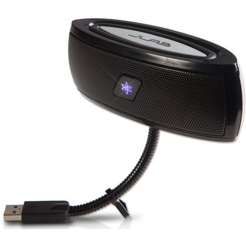 JLab USB Laptop Speakers - Portable, Compact, Travel Noteboo