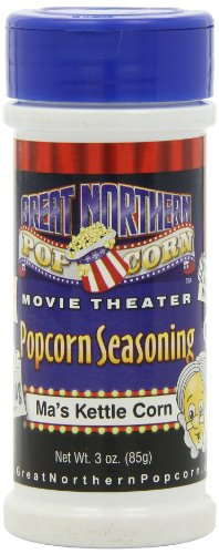 Great Northern Popcorn Company Seasoning, Ma's Kettle Corn,
