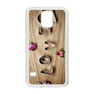 love Customized Cover Case for SamSung Galaxy S5 I9600,custom phone case dagongsi603581