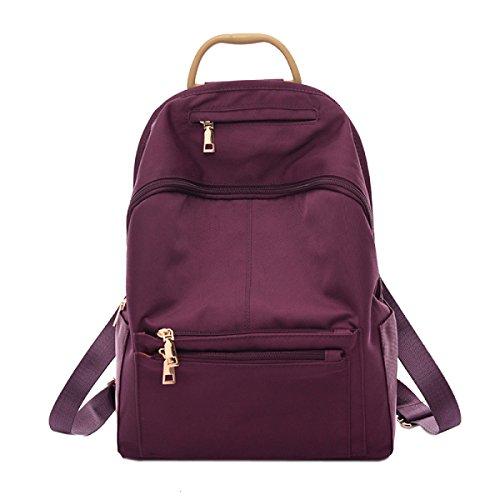 La Moda Los Estudiantes El Lavado Ocio Escuela Viajes Universidad Mochila Bolso Purple