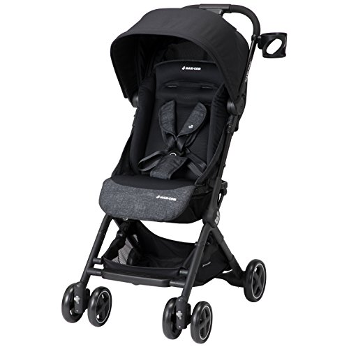 Maxi-Cosi Lara Lightweight Ultra Compact Stroller, Nomad Black, One Size (Maxi Cosi Car Seat Shoulder Strap Pads)