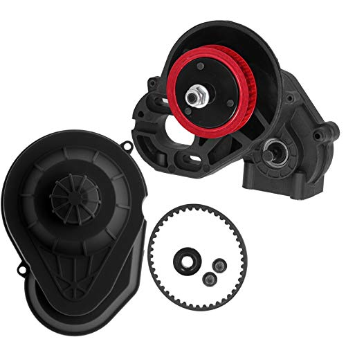 Complete versnellingsbak, rubberen riem Geen geluid Hoogwaardige materialen RC-versnellingsbak, voor…