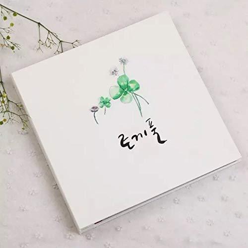 Vivona Leather Photo Album DIY Handmade Film Sticker Korean Creative Couple Romantic Album Family Baby Souvenir - (Color: 12 inch)